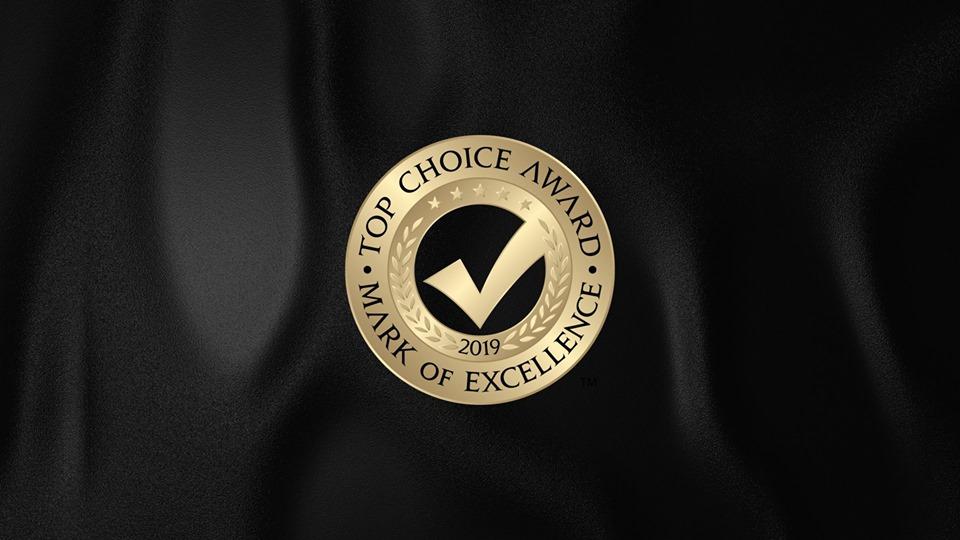 rococo BRIDES Wins 2019 Top Choice Award